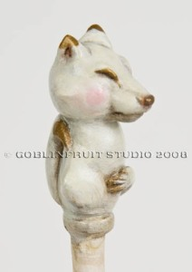 Side view of Kitsune