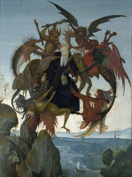 "Kimbell Museum Michelangelo ""Torment of St. Anthony"""